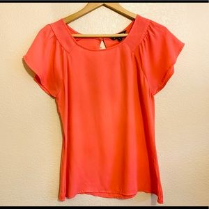 Express Silky Cap Sleeve Blouse Career or Casual